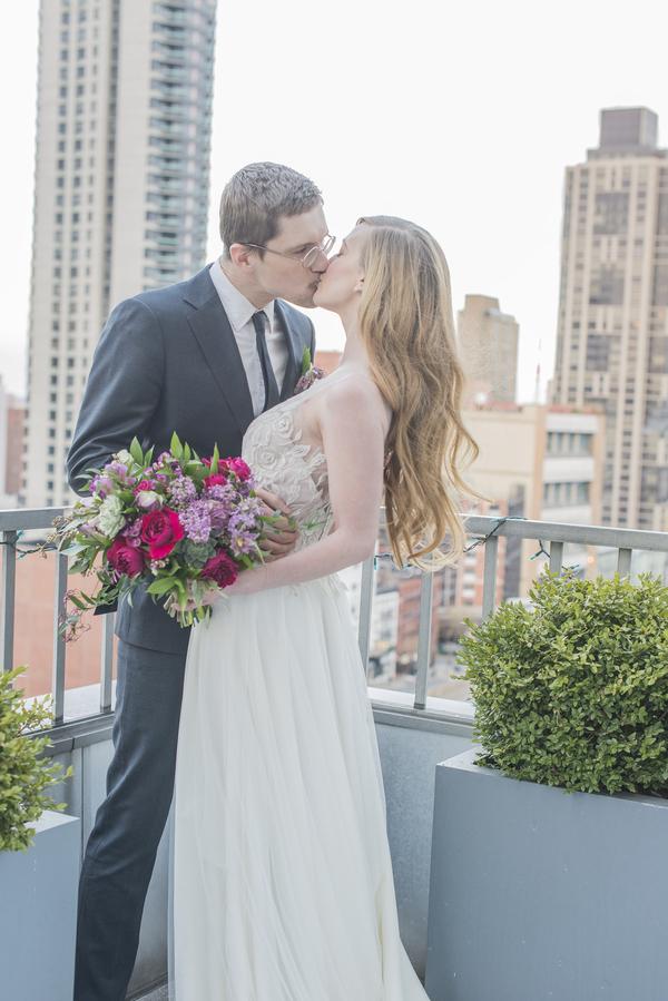 Iconic Jewel Toned Manhattan Wedding