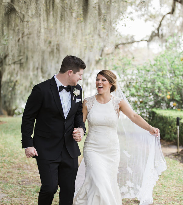 A Romantic Wedding at the Peachtree House –  Brittaney & Jameson