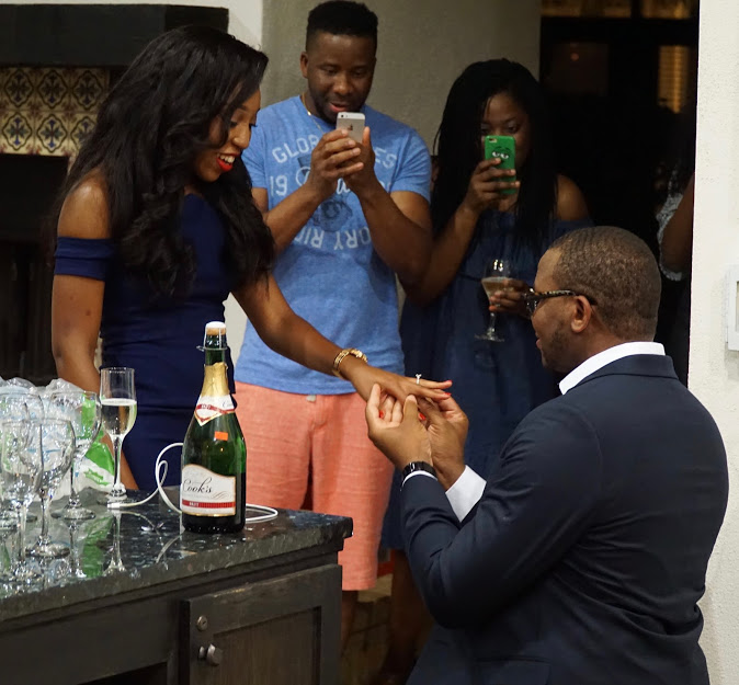 A Proposal Story Gadi And Ifeoma The Coordinated Bride