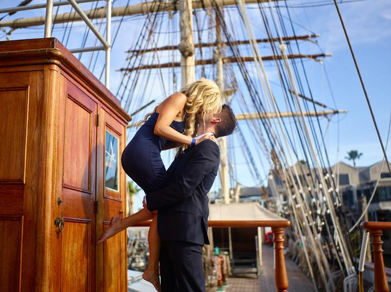Sunlight & Sailing, A Galveston Couple Session