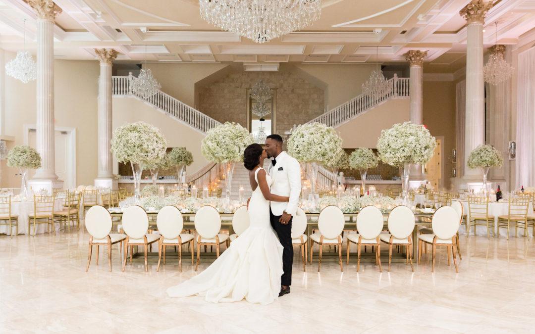 A Nigerian Multicultural Luxury Wedding in Virginia, Sade & Ayo