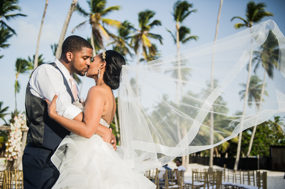 A Blush, Gold and Ivory Destination Wedding in Punta Cana – Corey and Nazzy