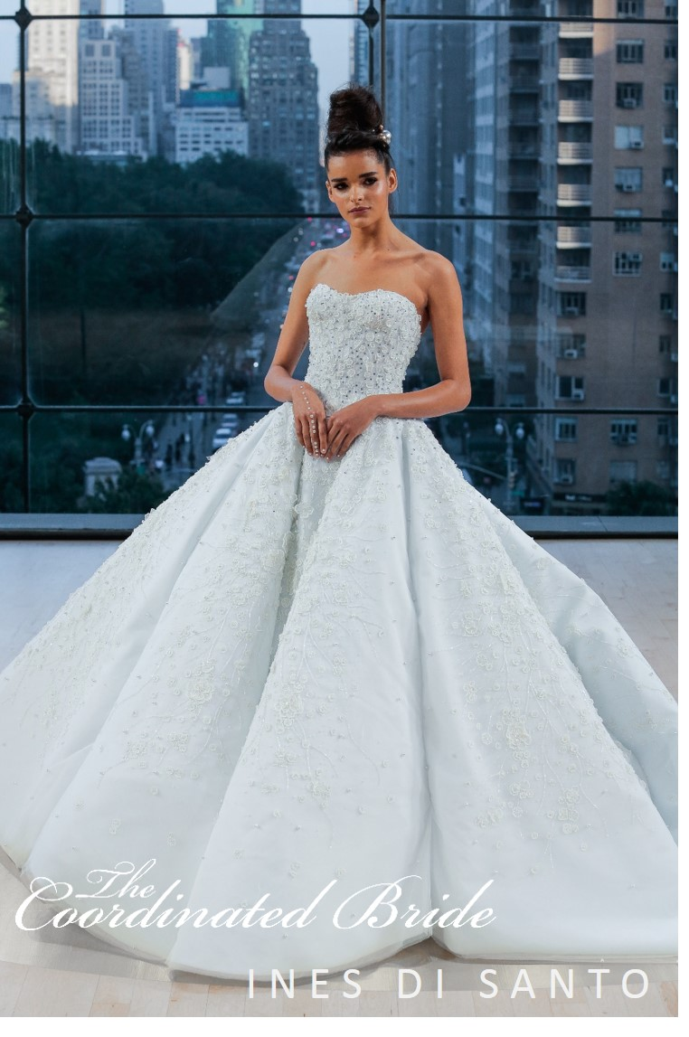 INES DI SANTO FALL 2018 BRIDAL COLLECTION | The Coordinated Bride
