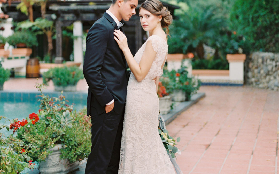 Romantic Southern California Styled Shoot