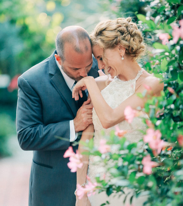 An Elegant Blush Ivory & Gold Florida Garden Wedding