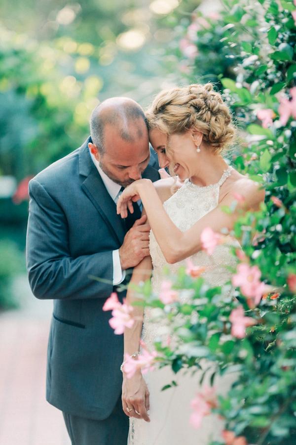 An Elegant Blush Ivory & Gold Florida Garden Wedding