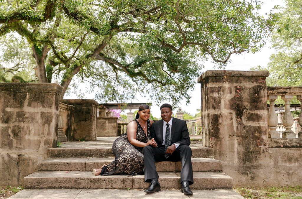 Yohance and Ariel – A Florida Engagement Shoot