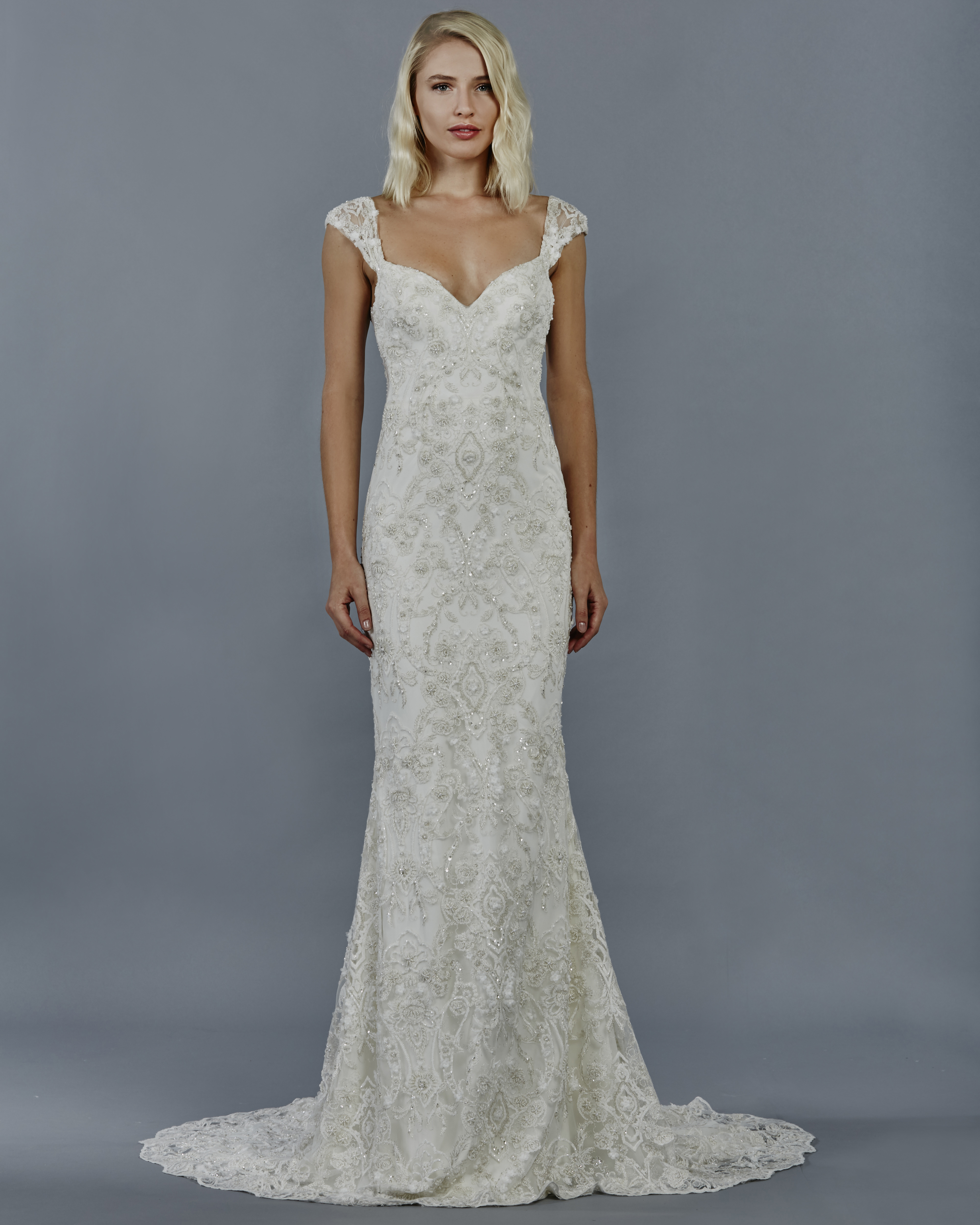 The Bridal Collection Real Bride: KELLY FAETANINI FALL 2018 BRIDAL COLLECTION