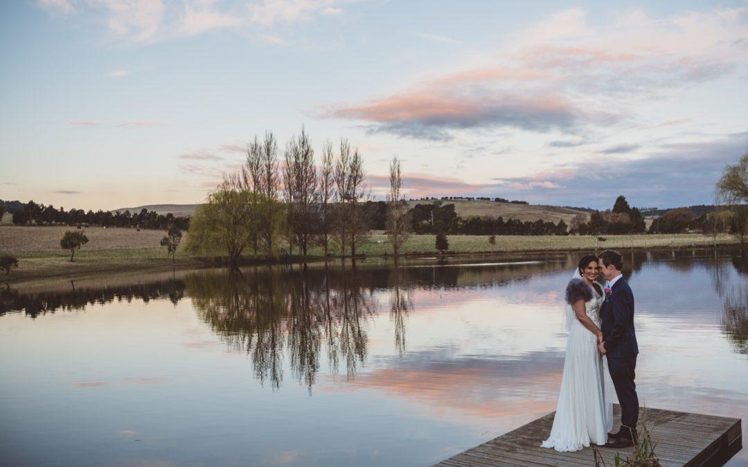 A Romantic Wedding at Bendooley Estate in Australia