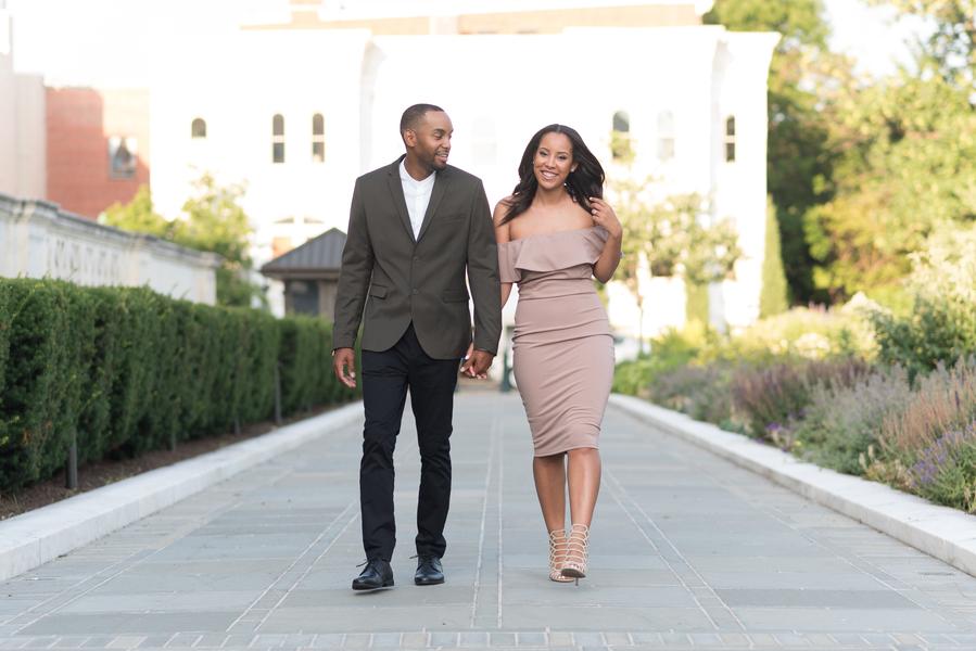 A Young Fresh Love, A DC Engagement Shoot Raquel & Curtis