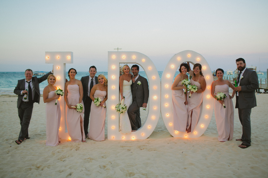 Vintage & Rustic Punta Cana Beach Destination Wedding
