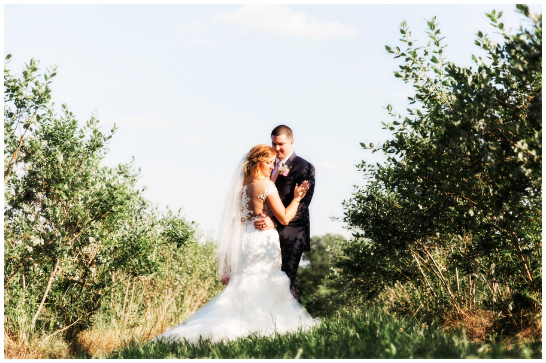 Summer Evening Vineyard Wedding: Grose & Rector