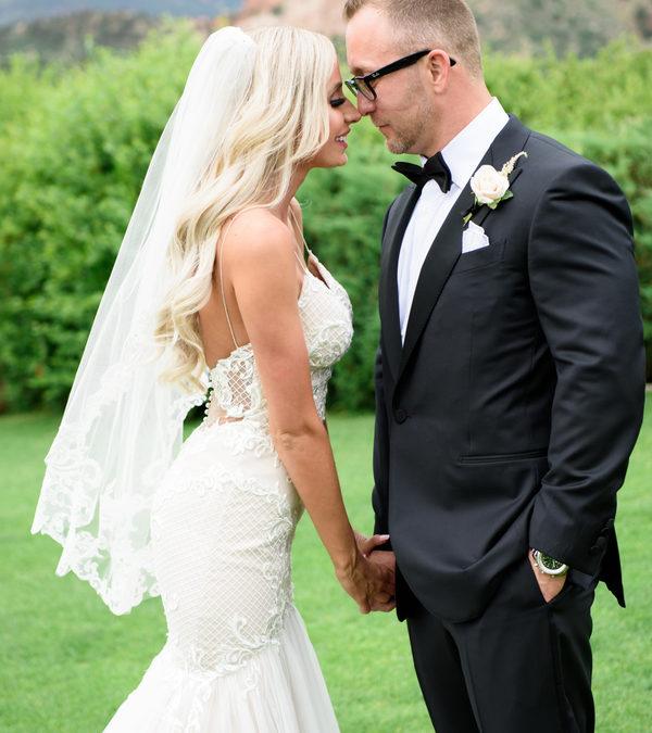 Black Tie Garden of the Gods Club Wedding: Courtney & Josh