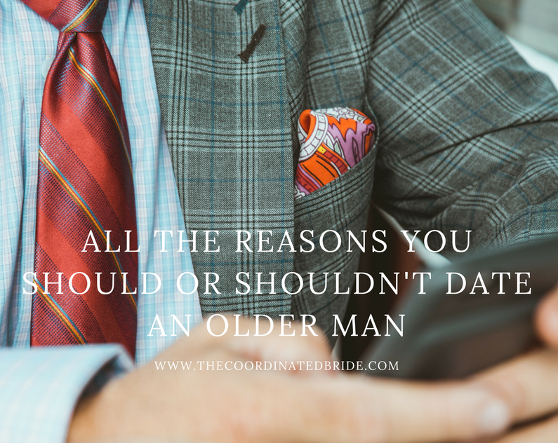 Coordinated Conversation: All the Reasons You Should or Shouldn't Date An Older Man