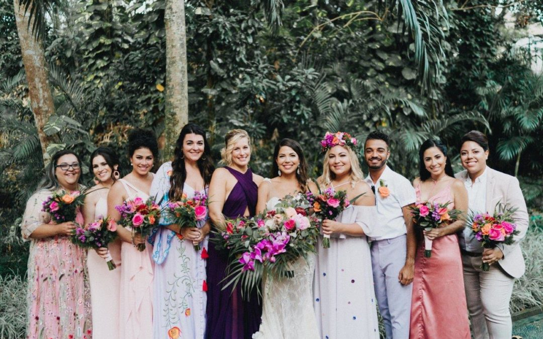 Romantic & Intimate Bali Destination Wedding – Nashira and Kevin