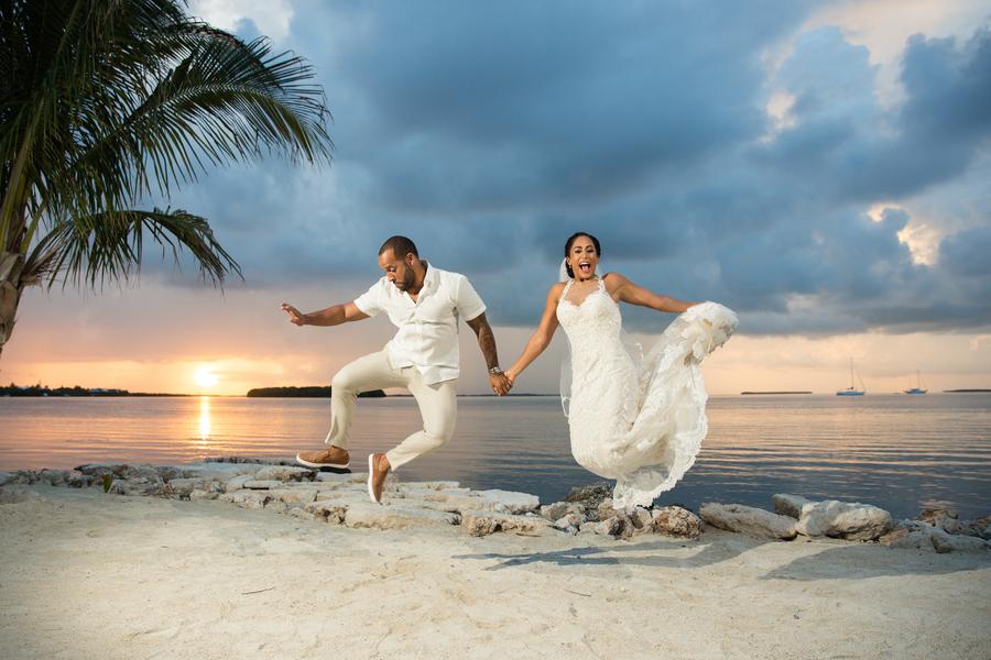 A Tropical Beachfront Florida Wedding – Natasha & Angel