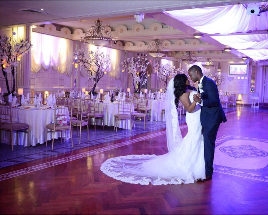 Glamorous Navy and Gold Wedding in New York – Gelissa and Clyde ...