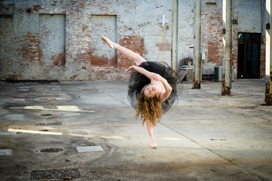 Ballet Inspired Senior Session
