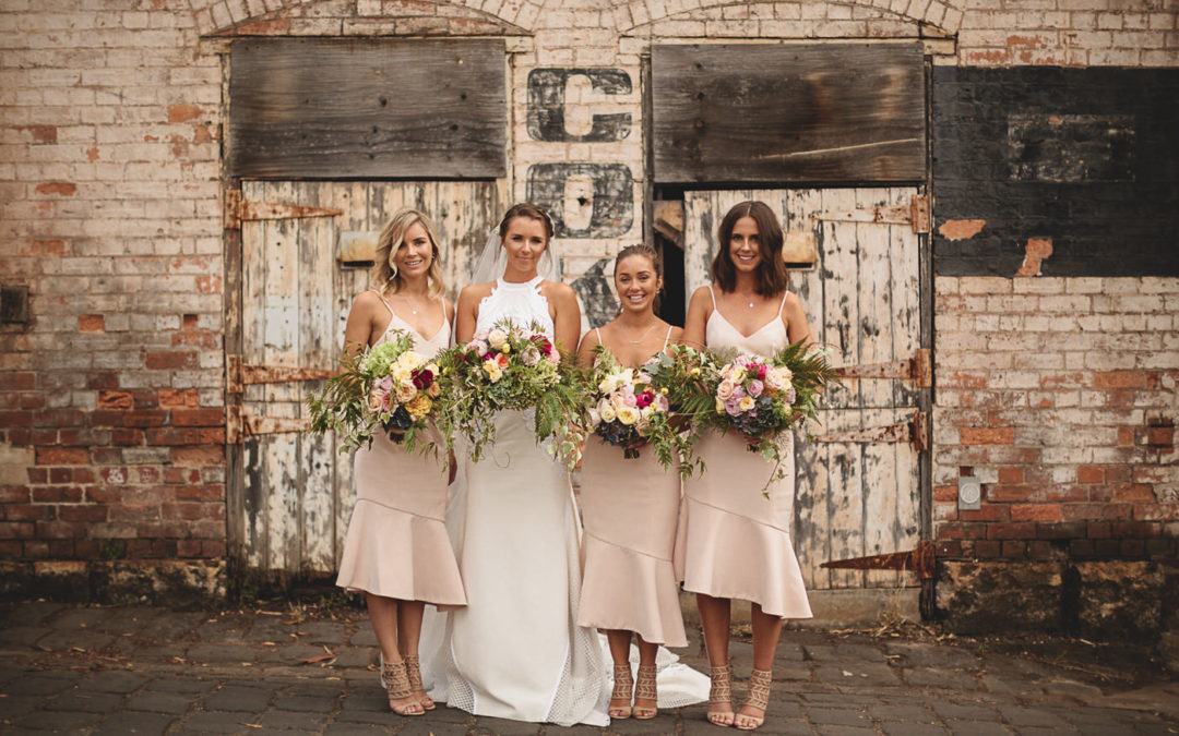 A Romantic Wedding at Abbotsford Convent in Australia