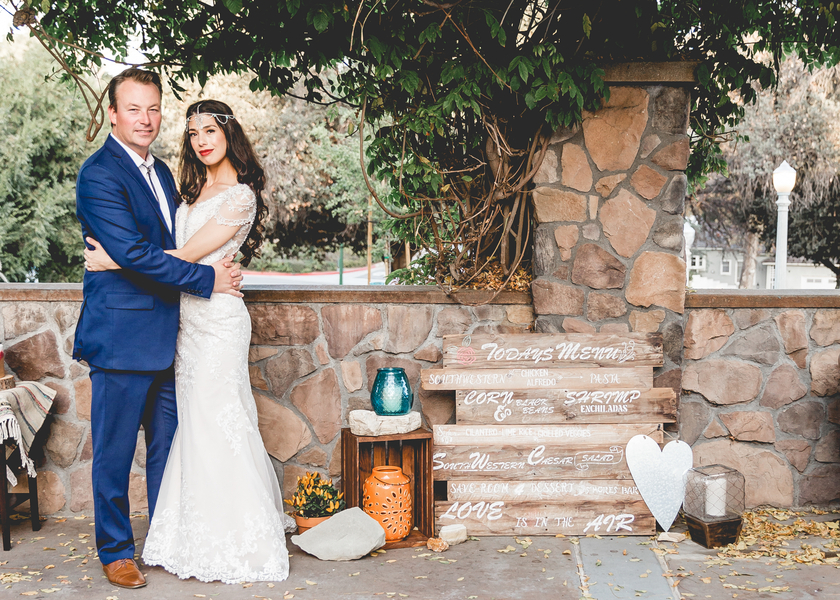 Southwest Boho Wedding in California