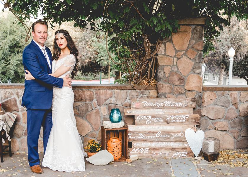 Southwest Boho Wedding in California