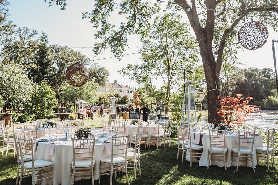 Vintage Garten a blush ivory gray vintage garden california wedding the