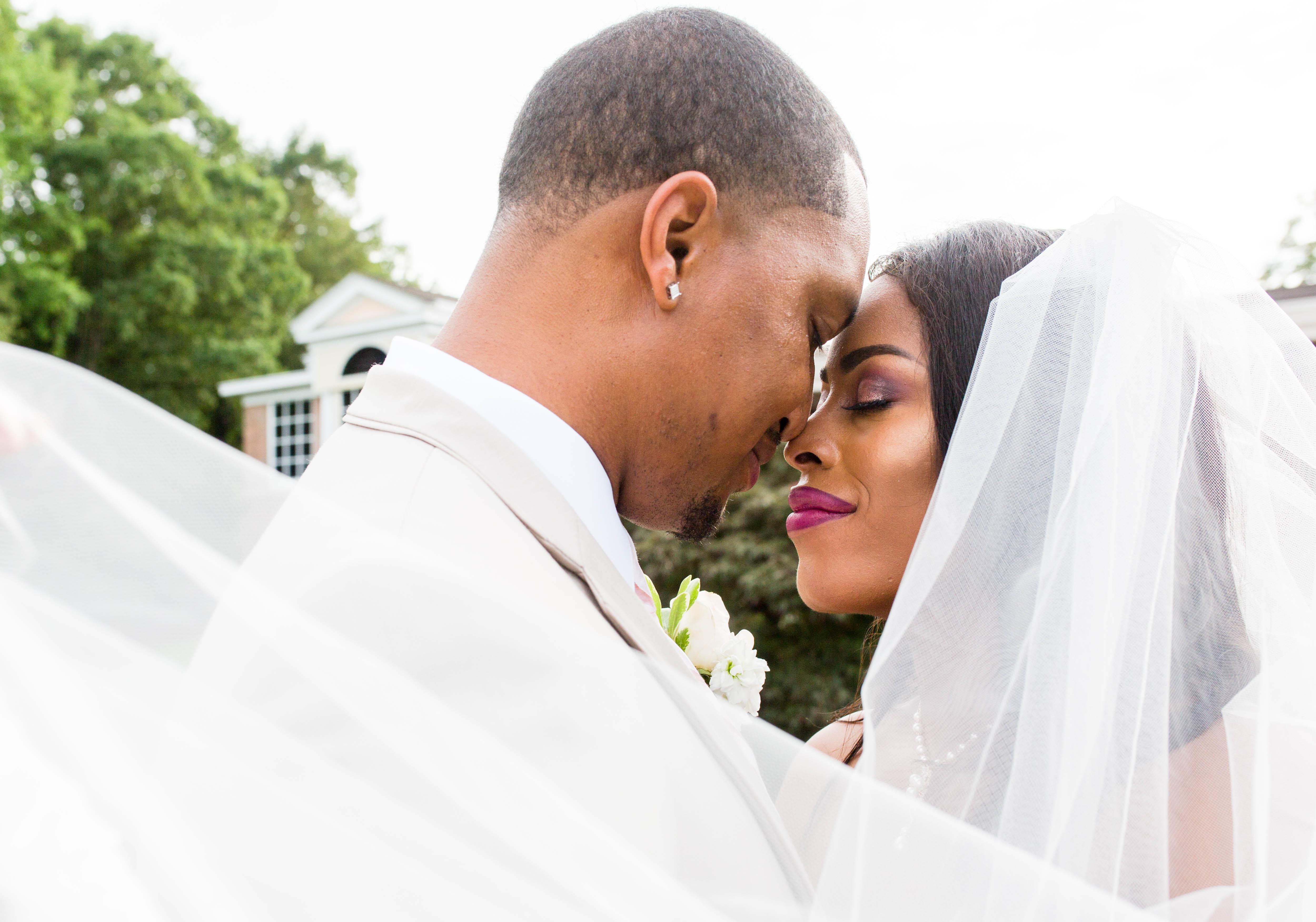 Romantic Blush Georgia Wedding: Dominique & Kelvin