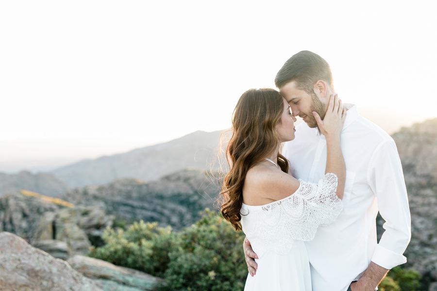 Ethereal Engagement Shoot on Mount Lemmon: Deanne & Tyler