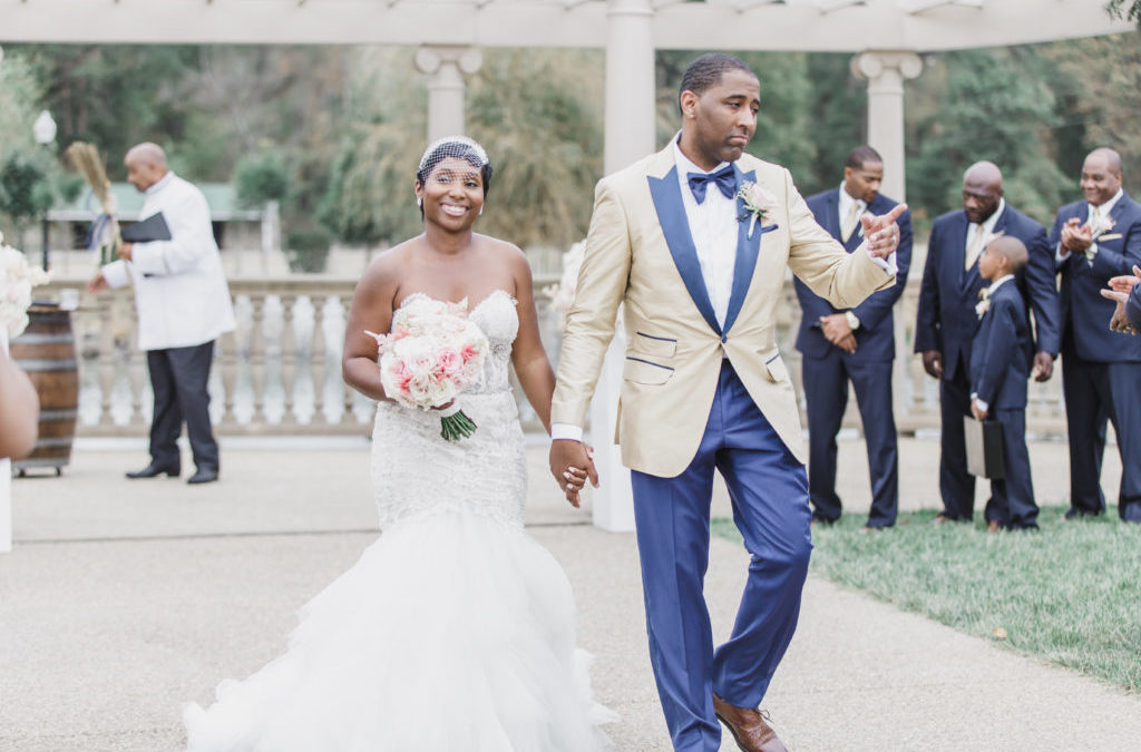A Romantic Virginia Vineyard Wedding – Tameka & Dwyane