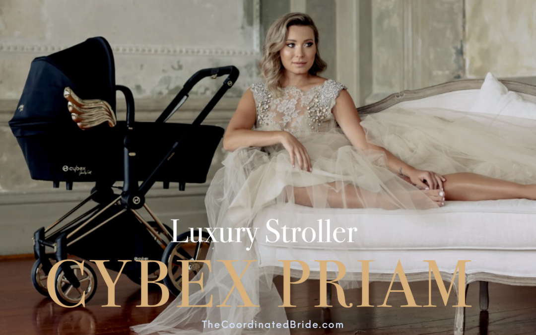 Luxury Stroller: CYBEX PRIAM Lux Seat by Jeremy Scott