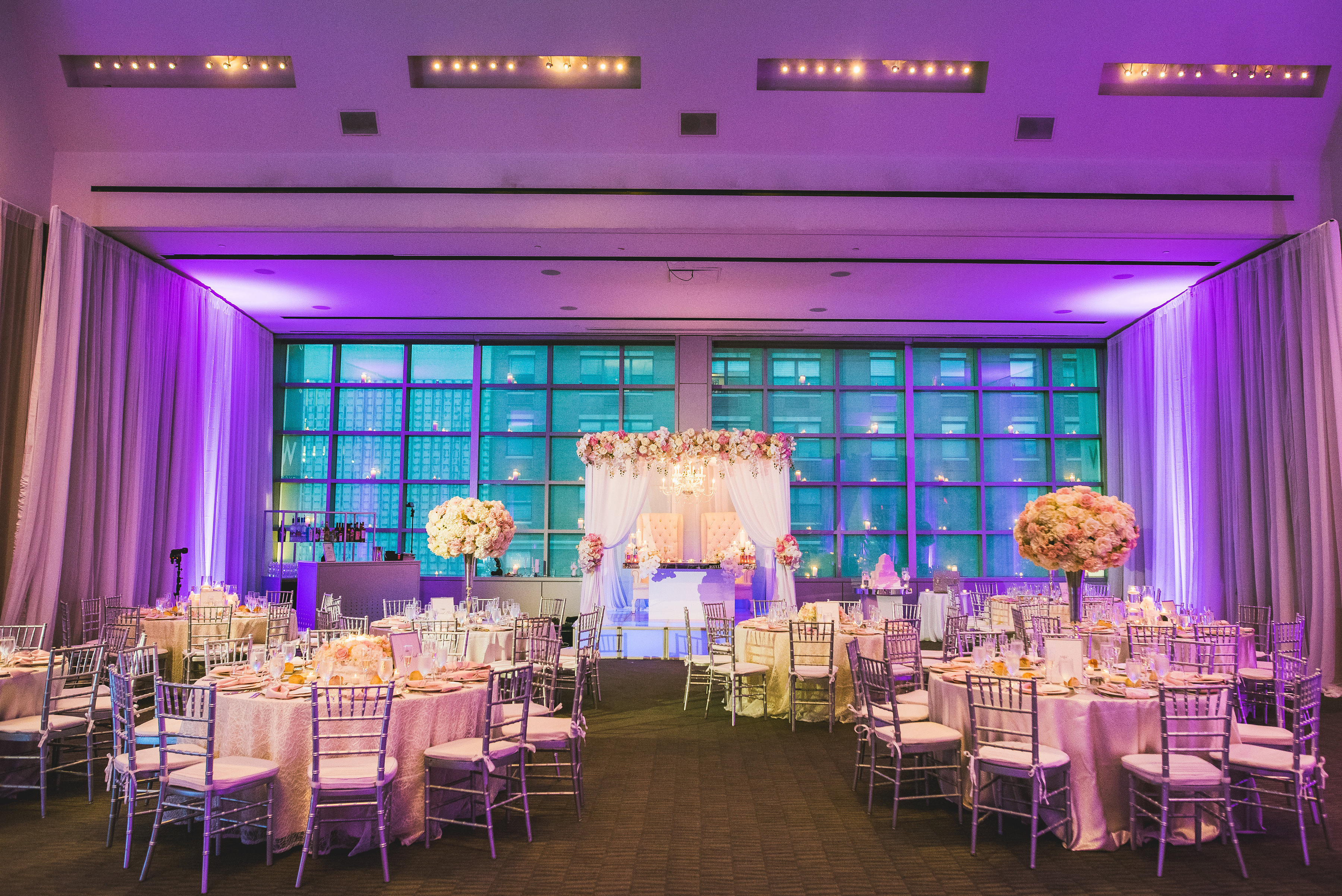 A Glam And Romantic Blush And Ivory New Jersey Wedding
