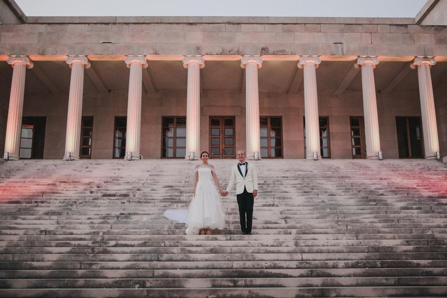 Elegant Croatia Destination Wedding at Ivan Meštrović Gallery