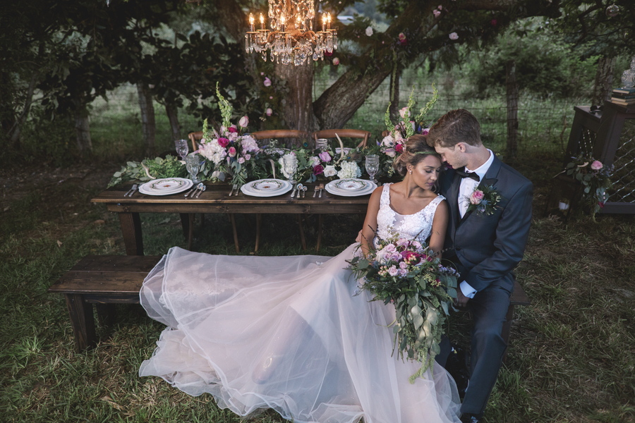 A Whimsical Wedding at The White House Farm