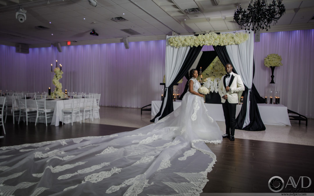 A Black Tie Affair With Tica Rose Events – Nadege & Wiz