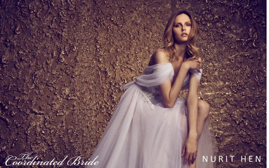 Nurit Hen 2018 Collection – 'Golden Touch'
