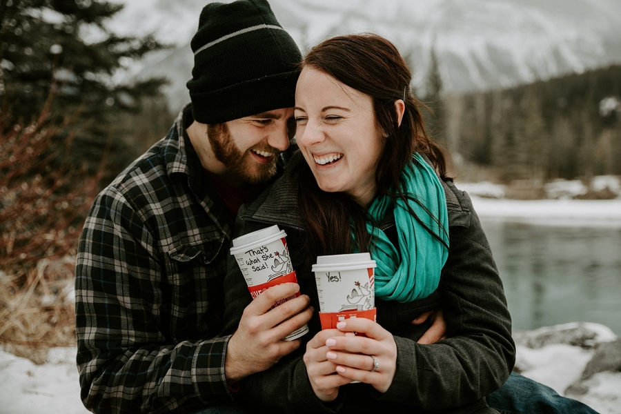 Romantic Winter Engagement Session – Rachel & Beaudan