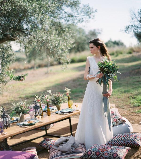 A Mediterranean Styled Spring Wedding in Greece