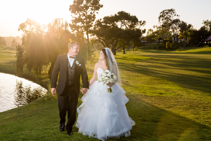 Family Style California Country Club Wedding