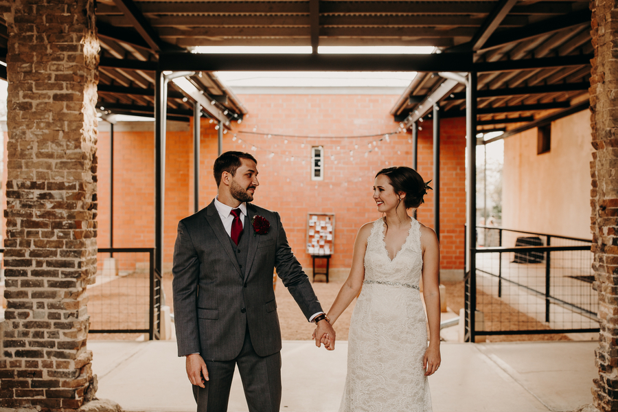 Rustic Small-Town Wedding in Comfort, Texas
