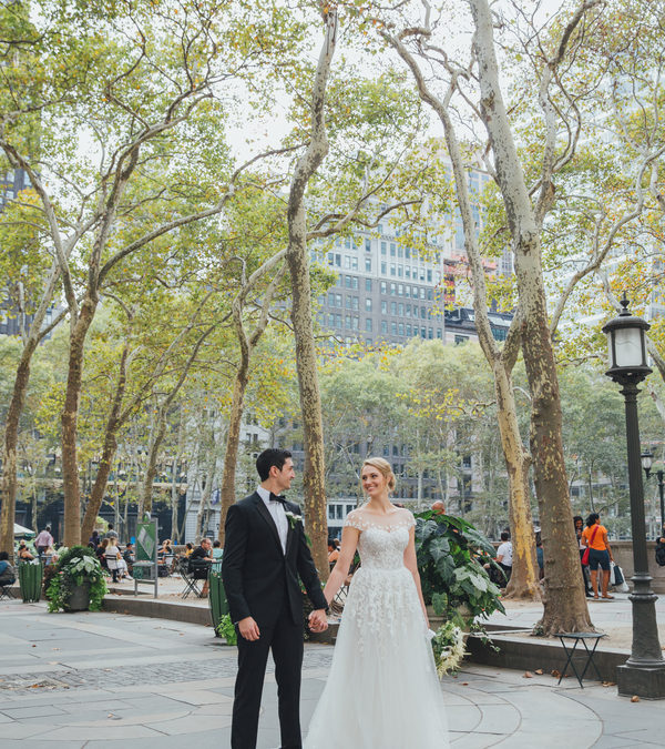 A Lifetime of Love at Bryant Park: Allyson & Jason