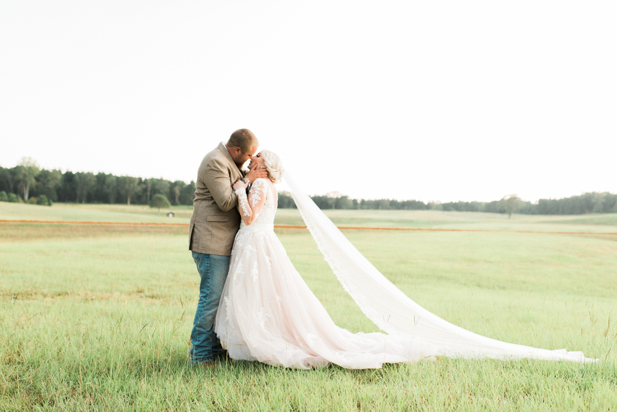 A Shabby Chic Georgia Boho Barn Wedding