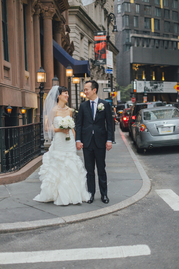 Elegant New York Boutique Style Hotel Wedding