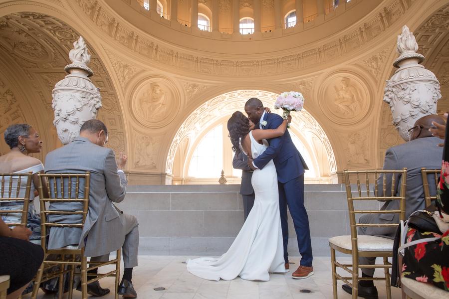 An Elegant San Francisco City Hall Wedding The