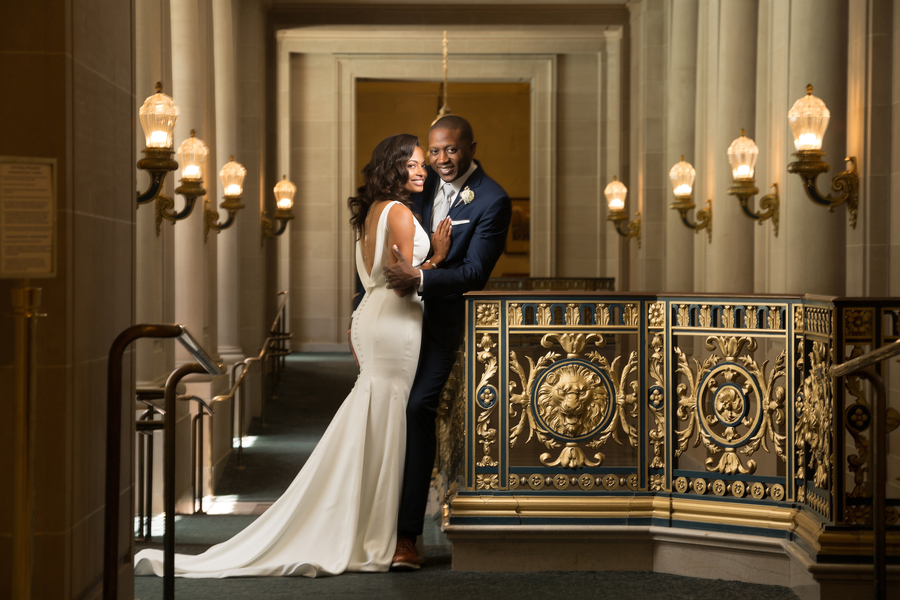 An Elegant San Francisco City Hall Wedding