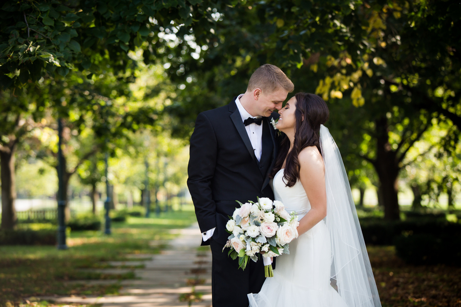 Romantic Kansas City Ballroom Wedding: Stacey & Aaron