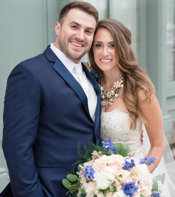 Gold & Navy Luxury New York Wedding