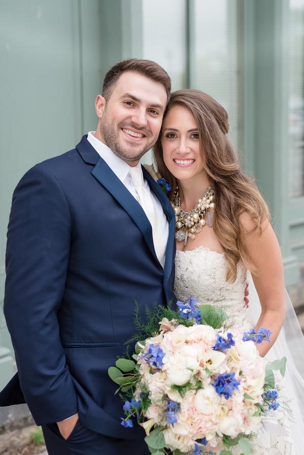 Gold & Navy Luxury New York Wedding