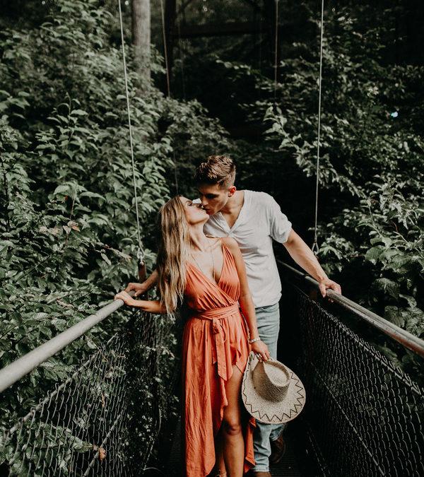 A Romantic Atlanta Engagement – Peyton and John-Mark