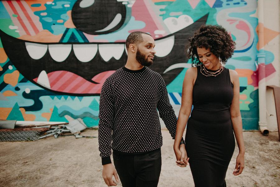 Vibrant Atlanta Engagement Session – Ava and Colin