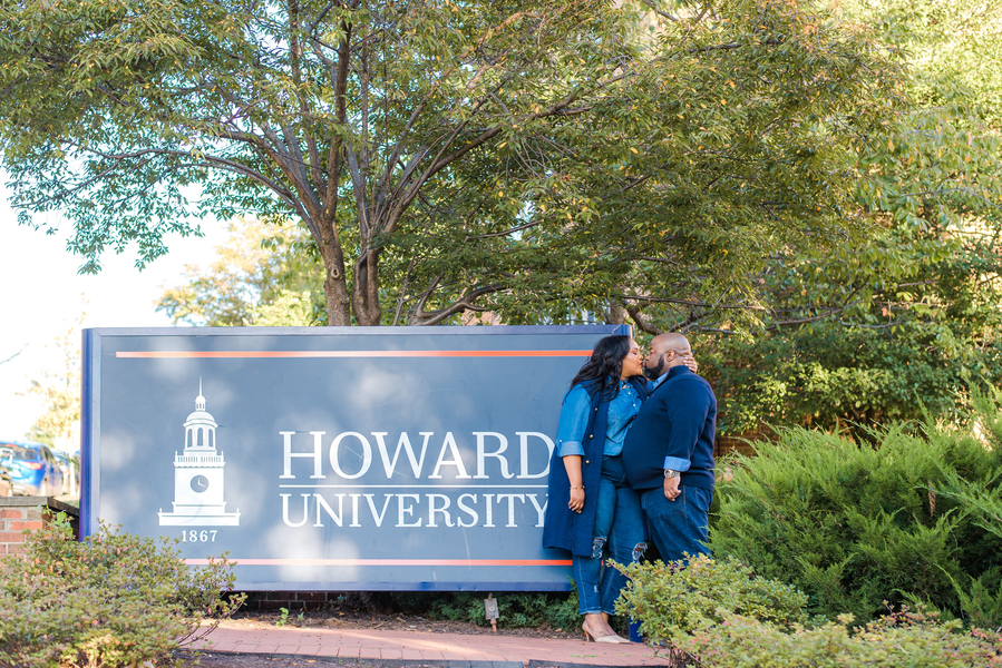 Howard University Engagement Session: Erika & Roger